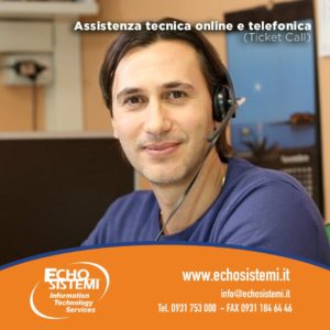Assistenza tecnica online e telefonica (Ticket Call)